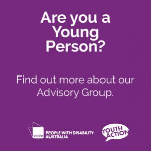 Are you a Young Person? Find out more about our Advisory Group
