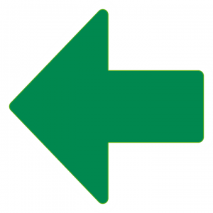 green arrow pointing left